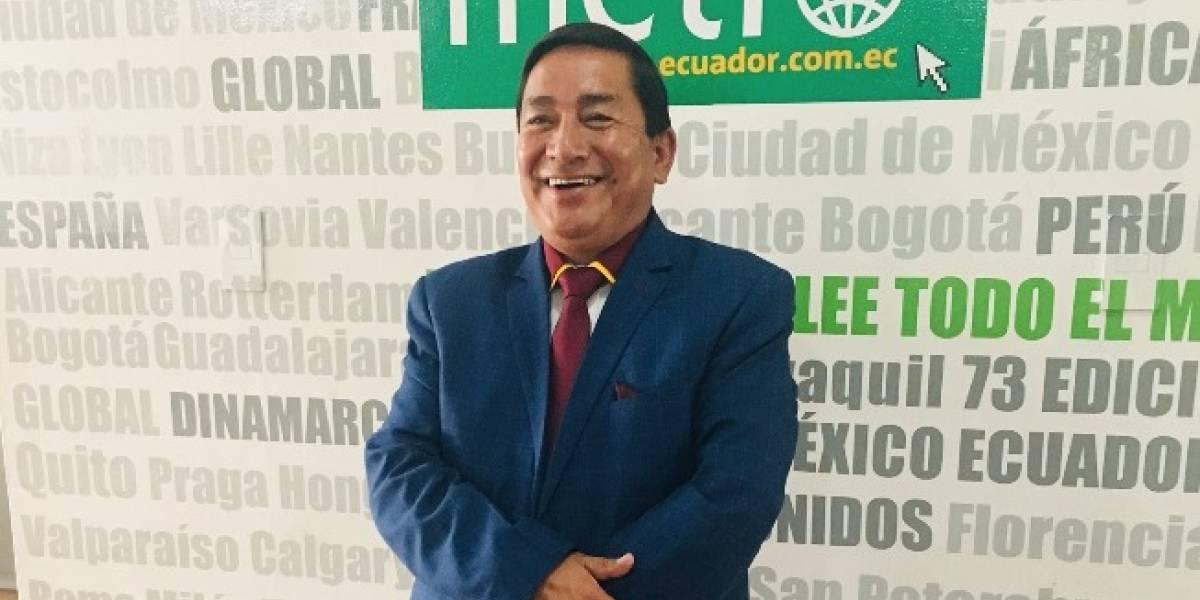 """Olivio Sarzosa de Justicia Social: """"El Metro no soluciona el problema de la movilidad"""""""