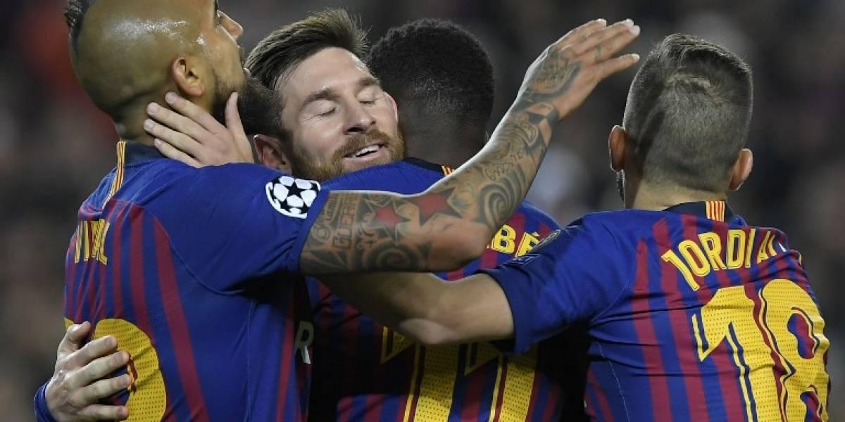 Exhibición de Messi y clasificación culé hacia los cuartos