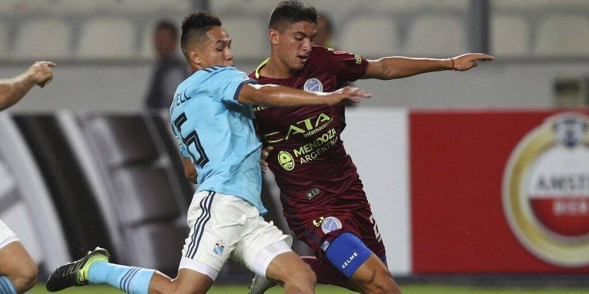 Godoy Cruz empató el partido con un golazo de Tomás Cardona