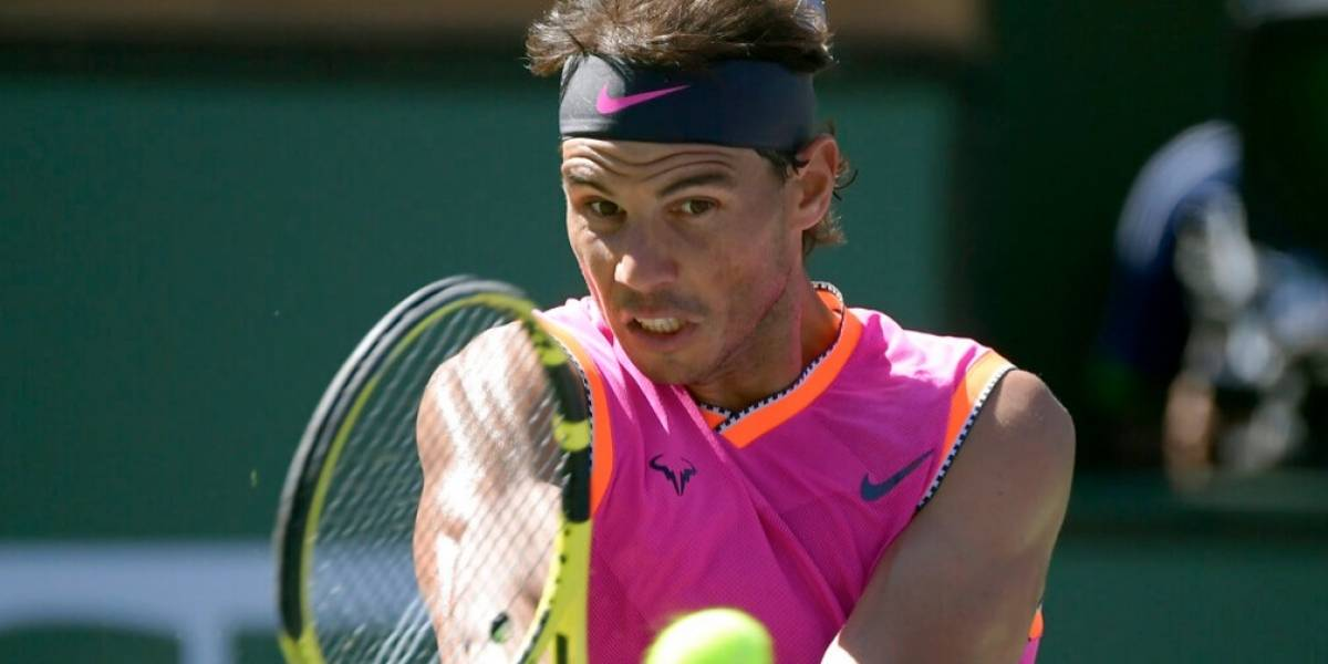 Sin apuros, Nadal alcanza cuartos de final en Indian Wells