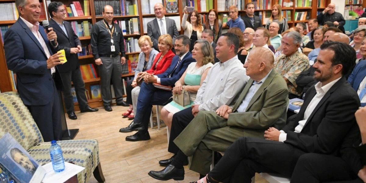 Pedro Rosselló presenta su libro en la Librería Norberto
