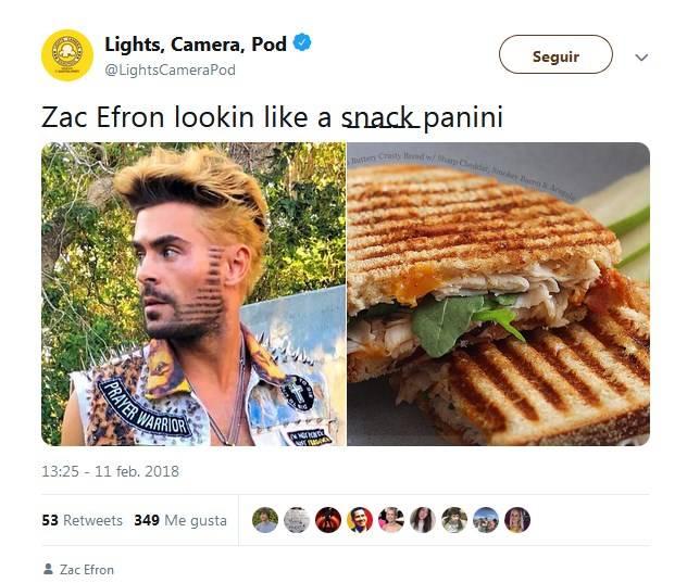 Look de Zac Efron que generó memes
