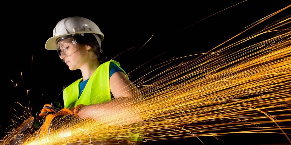 Mujeres chilenas ganan terreno en la construcción