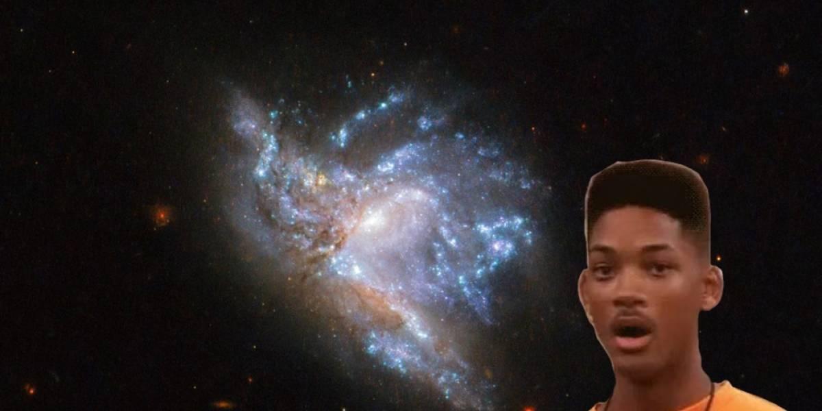 El telescopio Hubble tomó esta increíble imagen de dos galaxias chocando en la constelación de Hércules