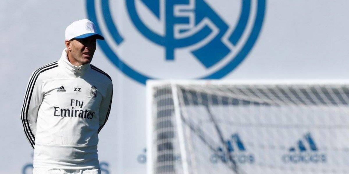 Zidane dirige su primer entrenamiento en el Real Madrid  bb94fb9b0bf74
