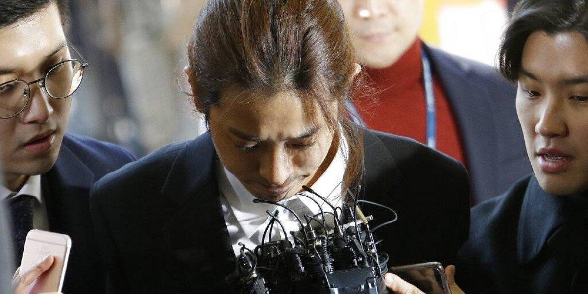 Dos astros del K-pop se sometieron a la justicia: fueron interrogados por escándalos sexuales