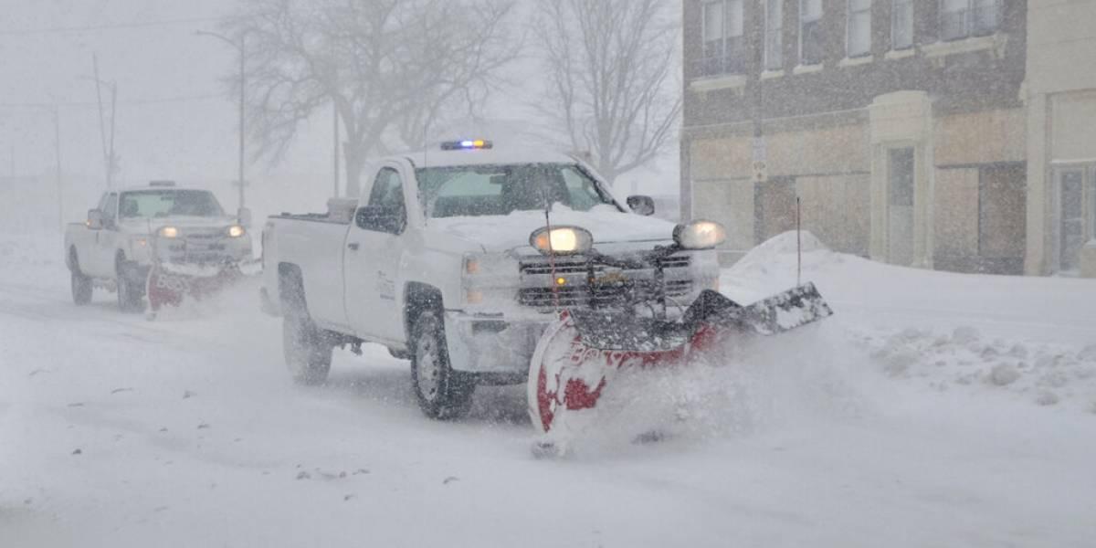 Tormenta invernal azota el centro de Estados Unidos