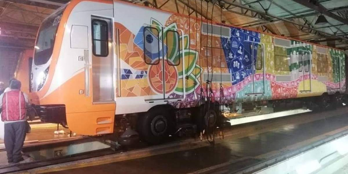 El Tren Toro del Metro de la CDMX se llamará Quetzalcoatl y aquí hay fotos filtradas