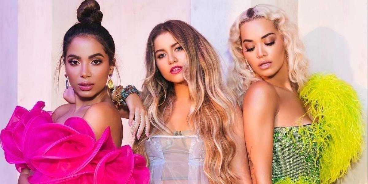 Sofia Reyes divulga teaser bombástico da parceria trilíngue com Anitta e Rita Ora