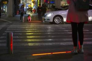 Así funcionan los semáforos instalados en Tel Aviv, Israel