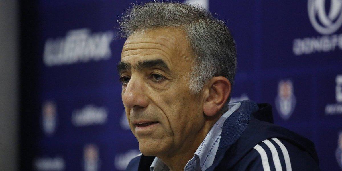"""Sabino Aguad y el arribo de Alfredo Arias a la U: """"No hicimos ninguna solicitud, ni de títulos ni de clasificación a copas"""""""