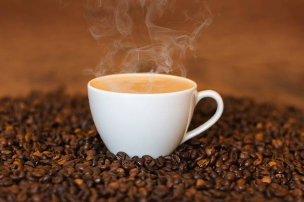 tomar cafe solo adelgaza