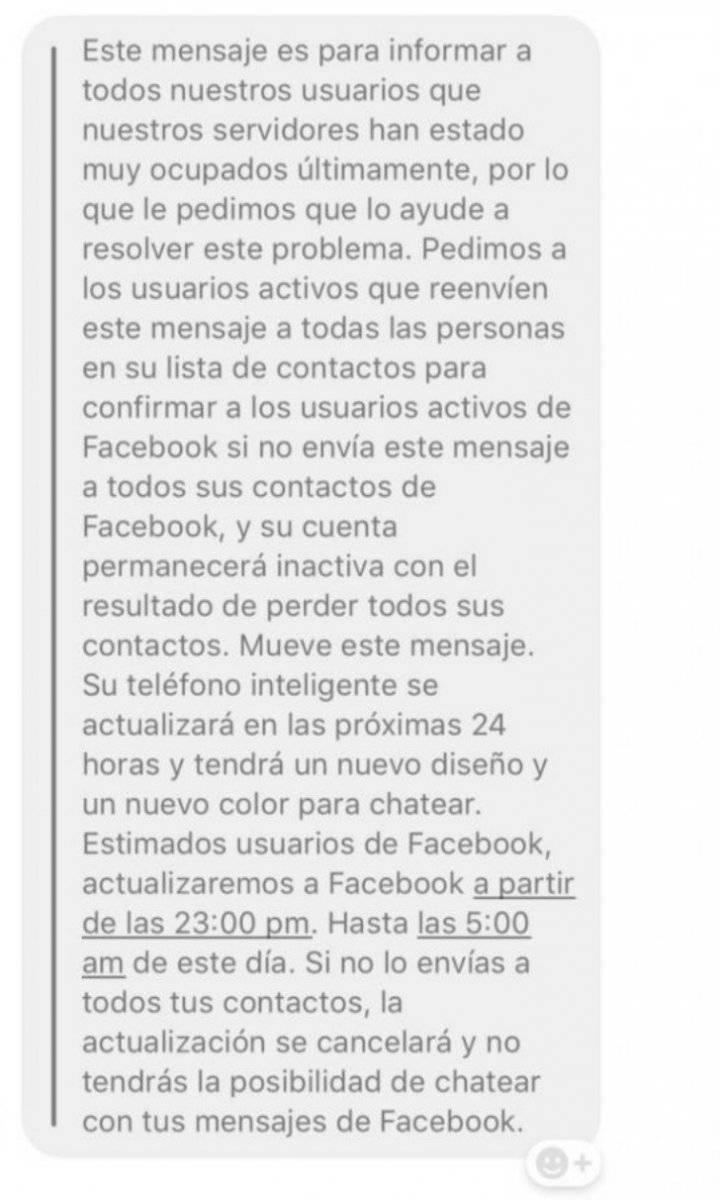 Cadena whatsaap