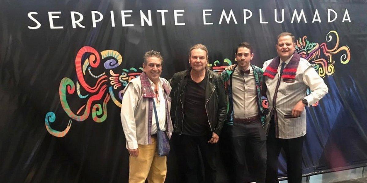 Fher Olvera de Maná promueve el documental Serpiente Emplumada