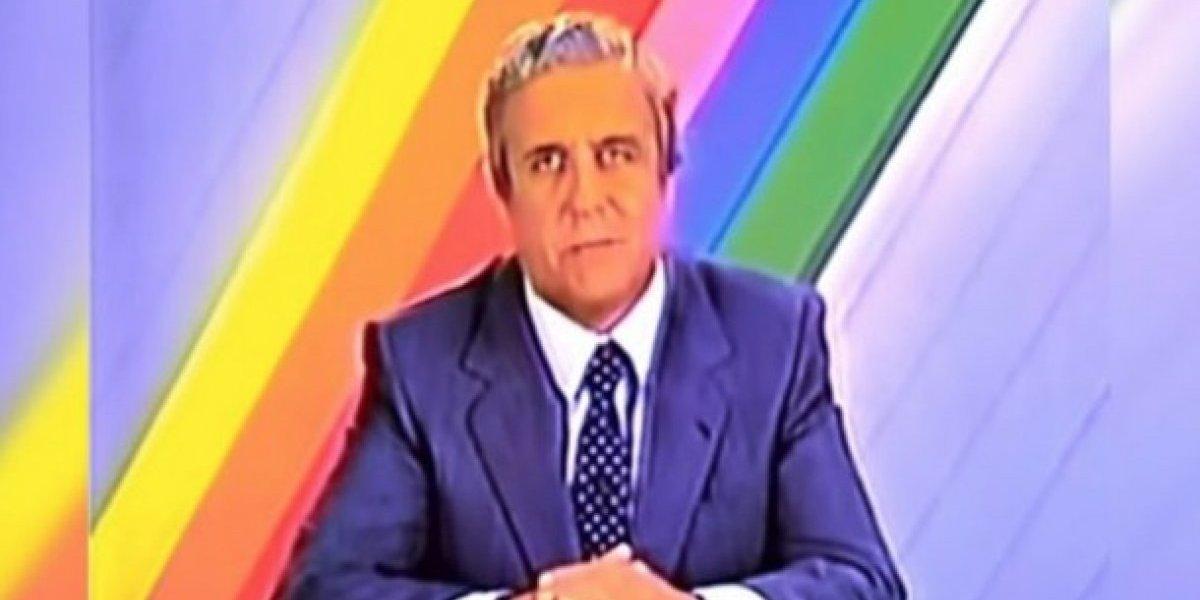"""""""No tienen la ética de Don Patricio Bañados"""": el emblemático periodista que se transformó en tendencia tras escándalo por errores en noticiarios de Mega y T13"""