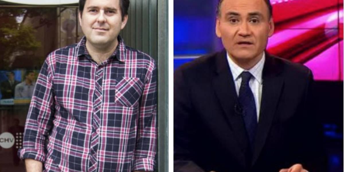 Cristian Arcos y Fernando Tapia son parte de los despidos masivos de CHV y CDF