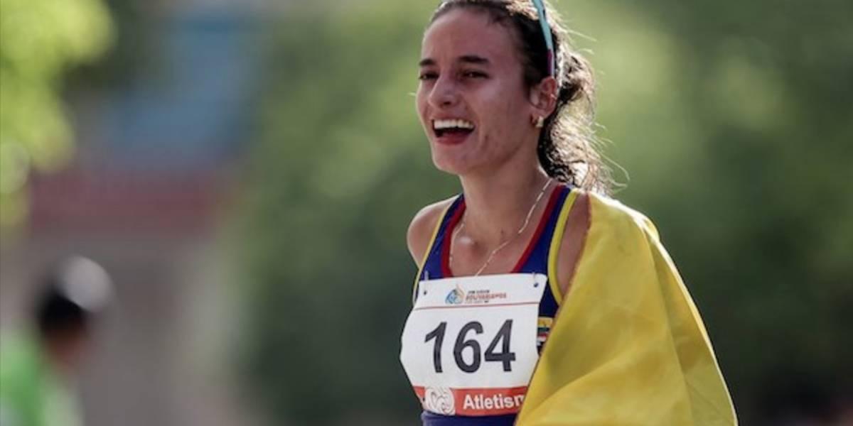 ¡Qué orgullo! Lorena Arenas es la primera deportista colombiana en clasificar a Tokio 2020