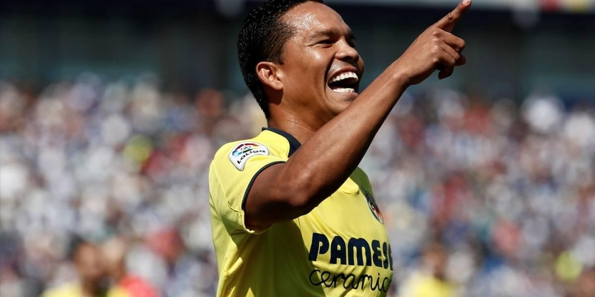 ¡Golazo de Carlos Bacca con Villarreal ante Zenit por octavos de final de Europa League!