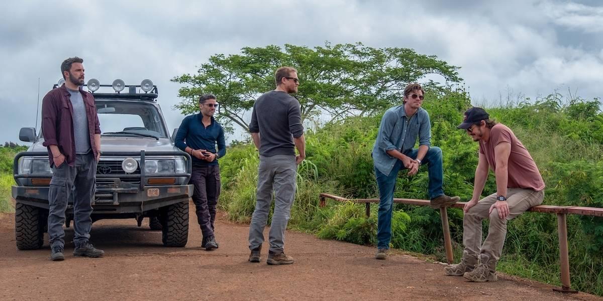 'Triple frontera', un thriller de acción, hermandad y aventura