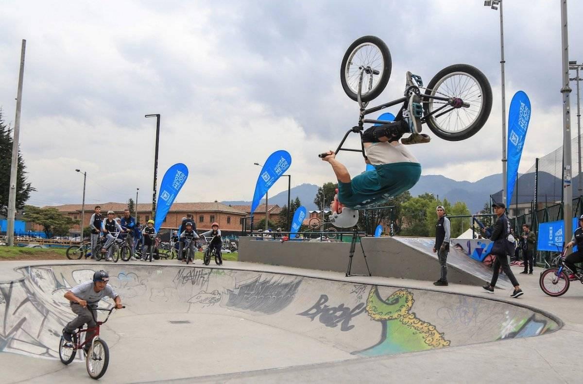 Skatepark del Parque Coliseo El Campín Cortesía IDRD
