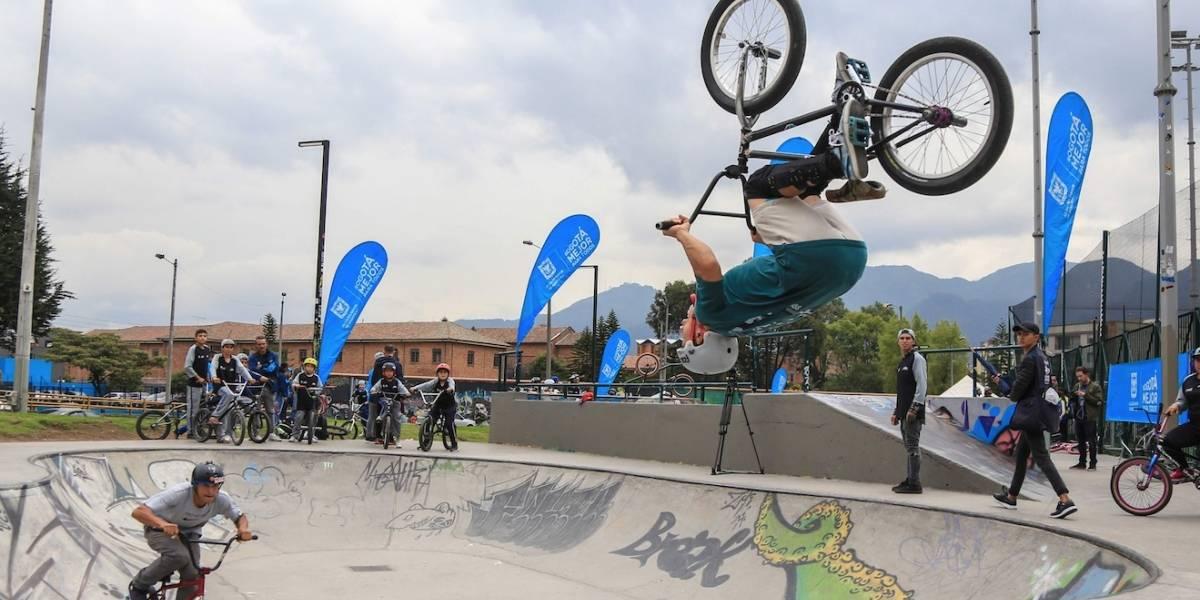 FOTOS: Conozca el Skatepark del Parque Coliseo El Campín