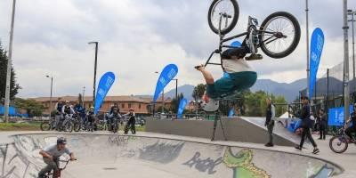 Skatepark del Parque Coliseo El Campín