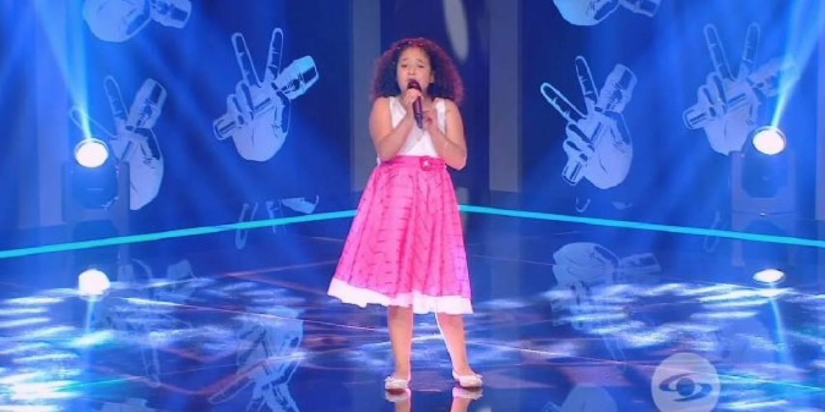 """""""Si no cantan reguetón no sirven"""": Televidentes de 'La Voz Kids' se enfurecieron porque esta niña no pasó"""
