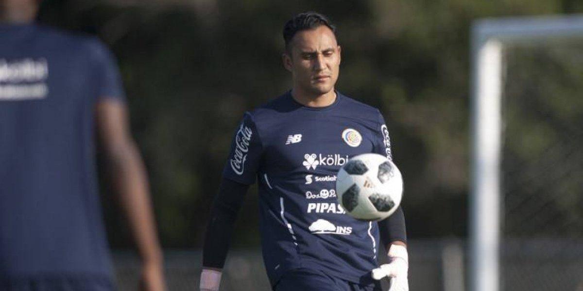 Keylor Navas encabeza convocatoria de Costa Rica para partido ante Guatemala
