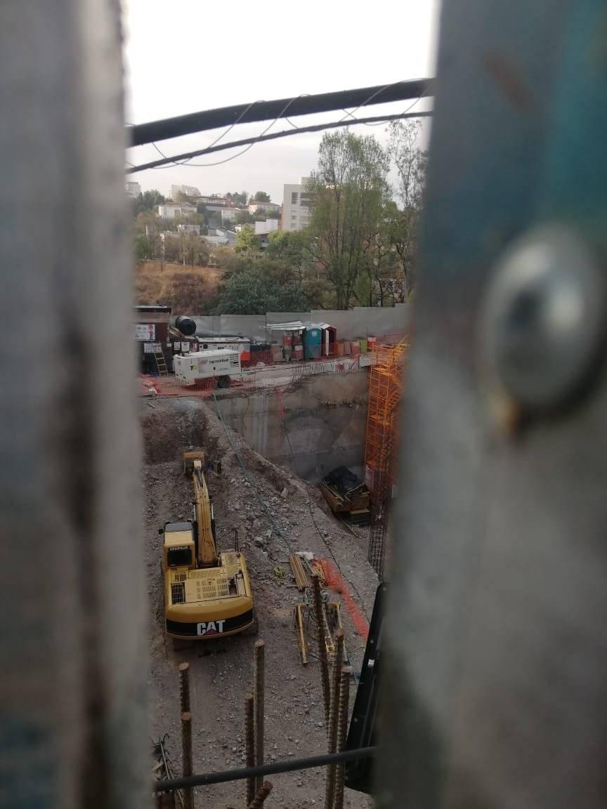 También la Sefunda Torre de Mítikah se suspendió.