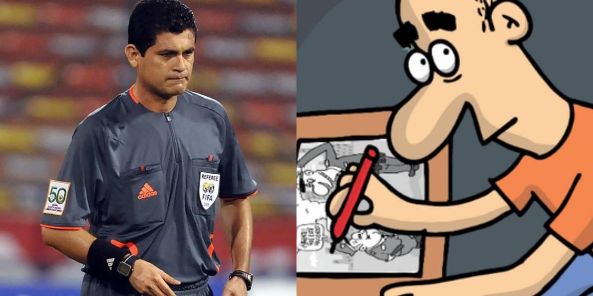 La caricatura de Matador sobre el escándalo de acoso a árbitros causó gran revuelo