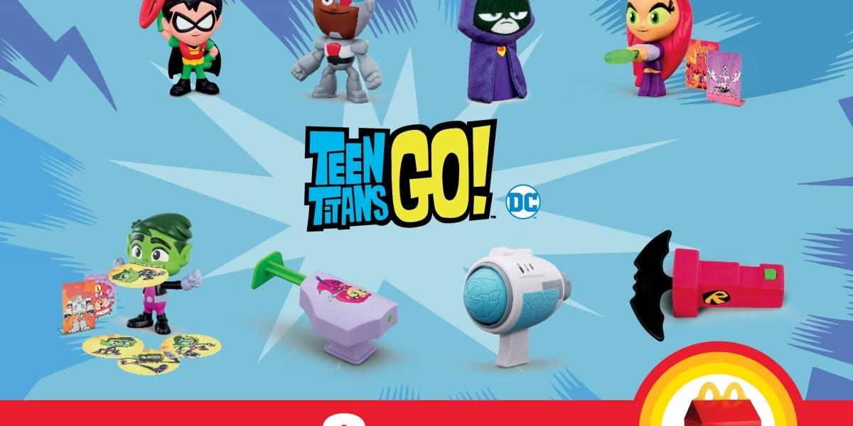 Llegan los superhéroes Teen Titans