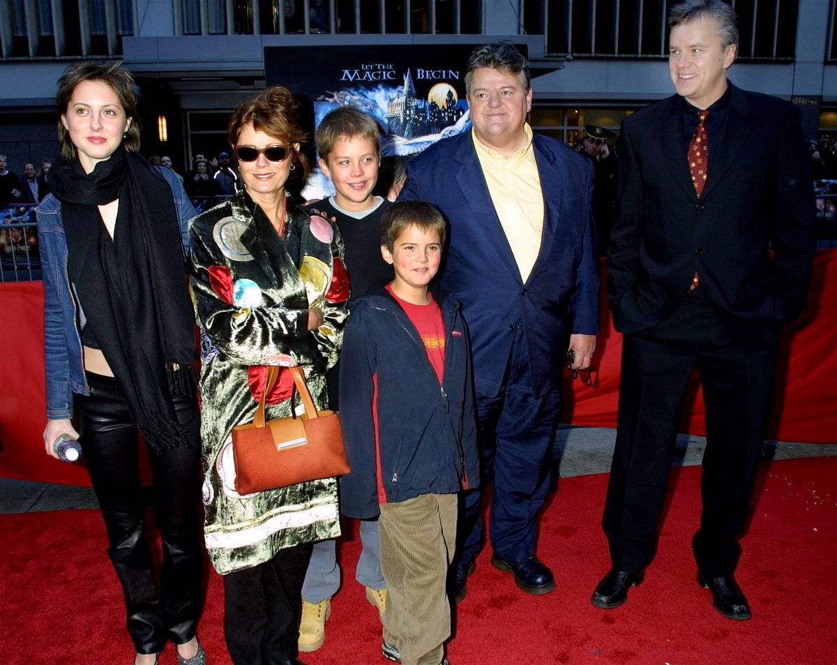 Susan Sarandon y su familia Foto: Getty Images