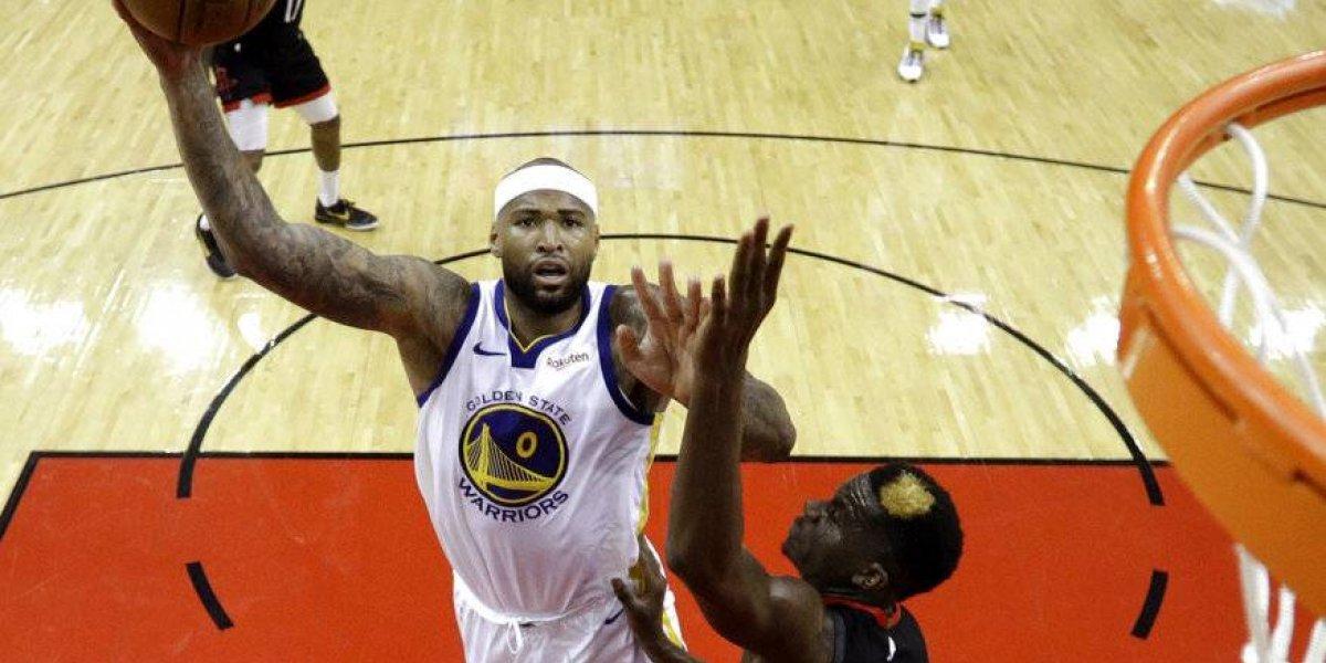 Golden State dio muestra de autoridad y le corta racha ganadora a Houston en la NBA
