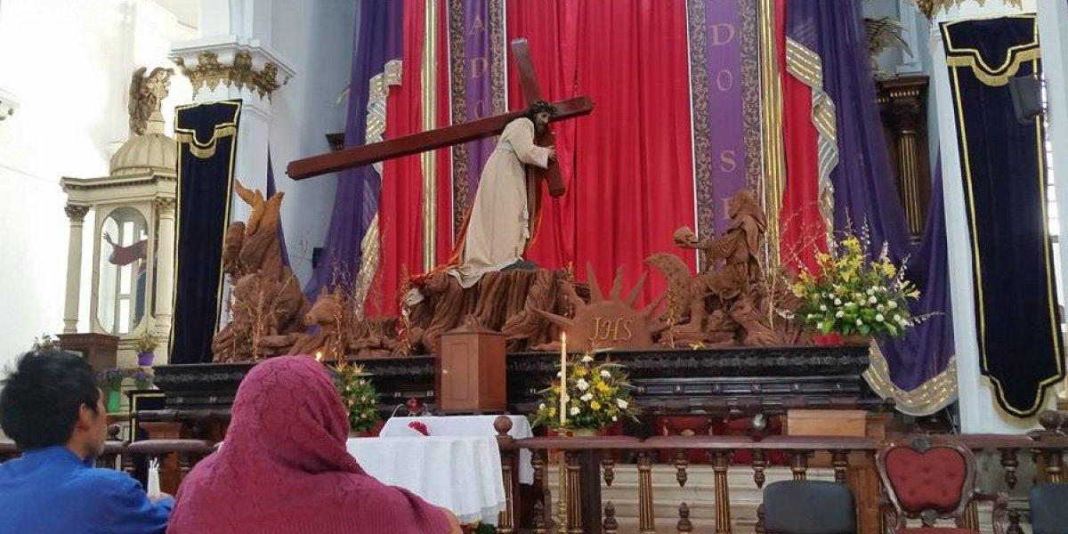 Jesús de la Justicia sale en procesión el Segundo Domingo de Cuaresma