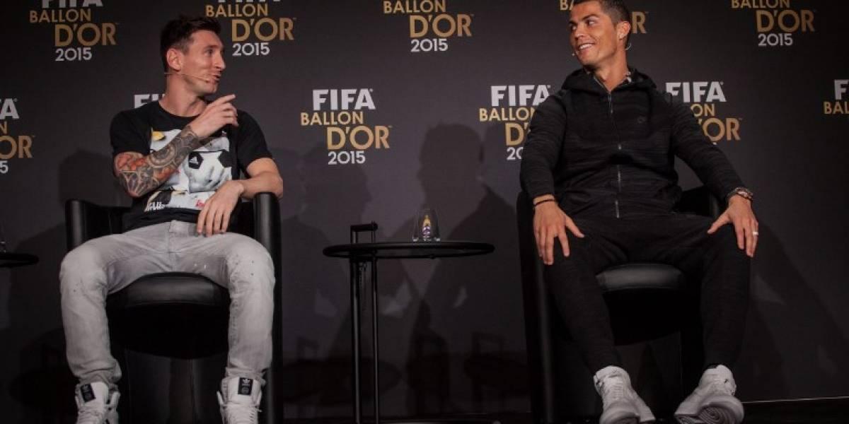 """Messi """"alaba"""" la actuación de Cristiano frente al Atlético"""