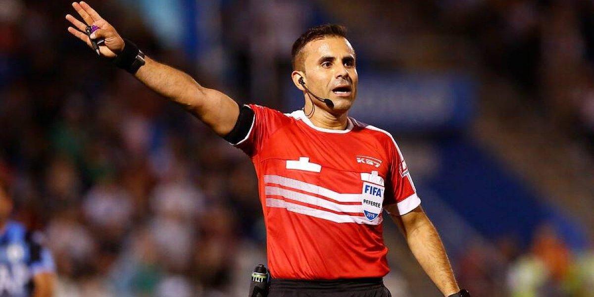 Piero Maza será el encargado de arbitrar una de las semifinales de la Copa Sudamericana