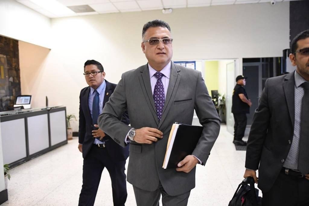 Roberto Mota Bonilla, exjefe de seguridad del OJ, se presenta a Juzgado. Omar Solís
