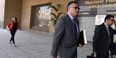 Roberto Mota Bonilla, exjefe de seguridad del OJ, se presenta a Juzgado.