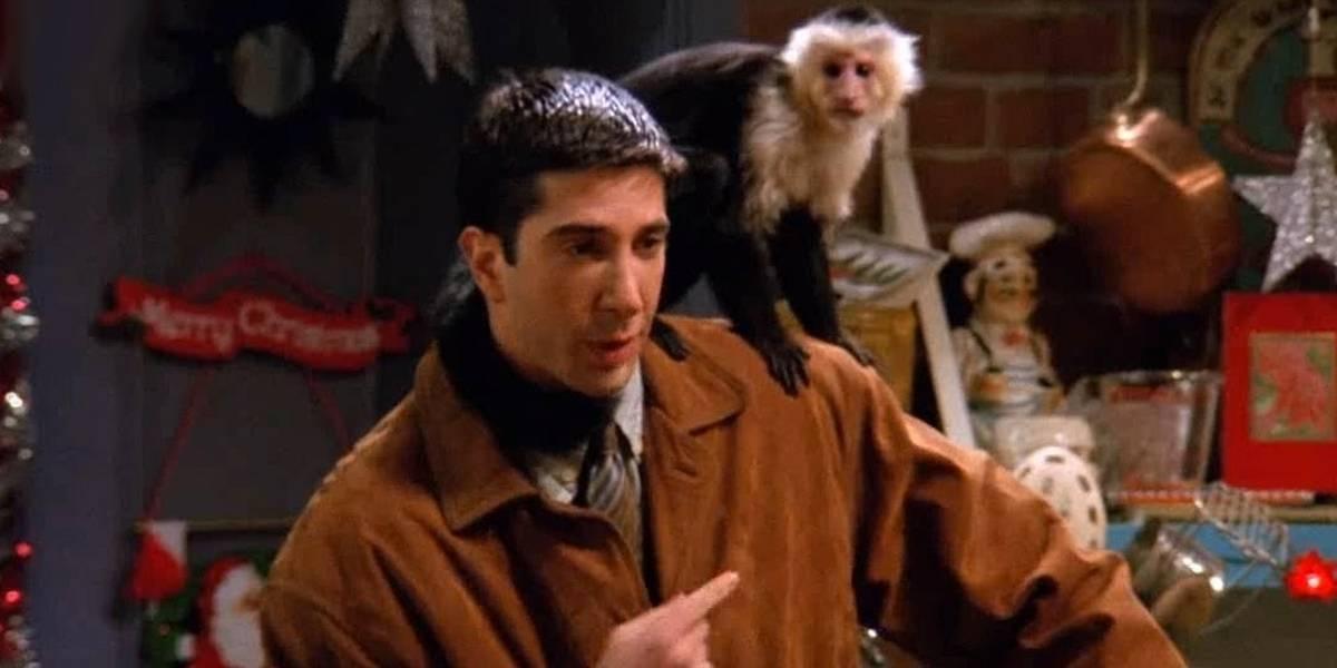 David Schwimmer, o Ross de 'Friends', não gostava de gravar com o macaco Marcel