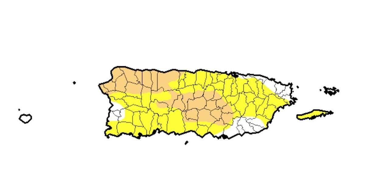 Reduce el por ciento de la isla en sequía moderada