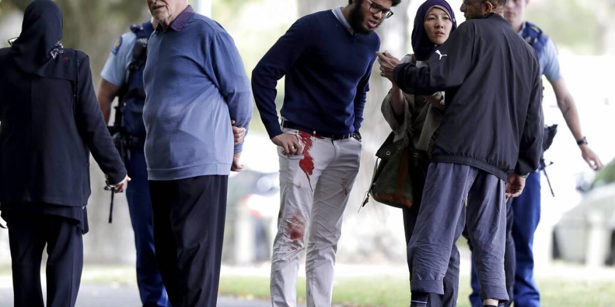 Las imágenes de la conmoción en Christchurch después de la masacre en las dos mezquitas de Nueva Zelanda