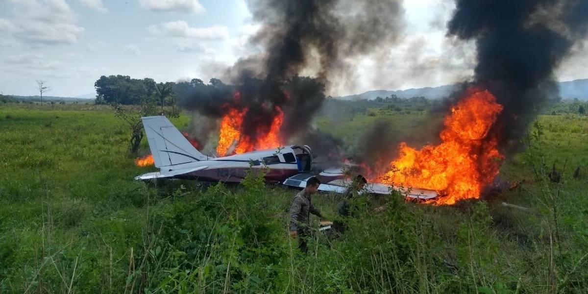 Avioneta se accidenta en Alta Verapaz