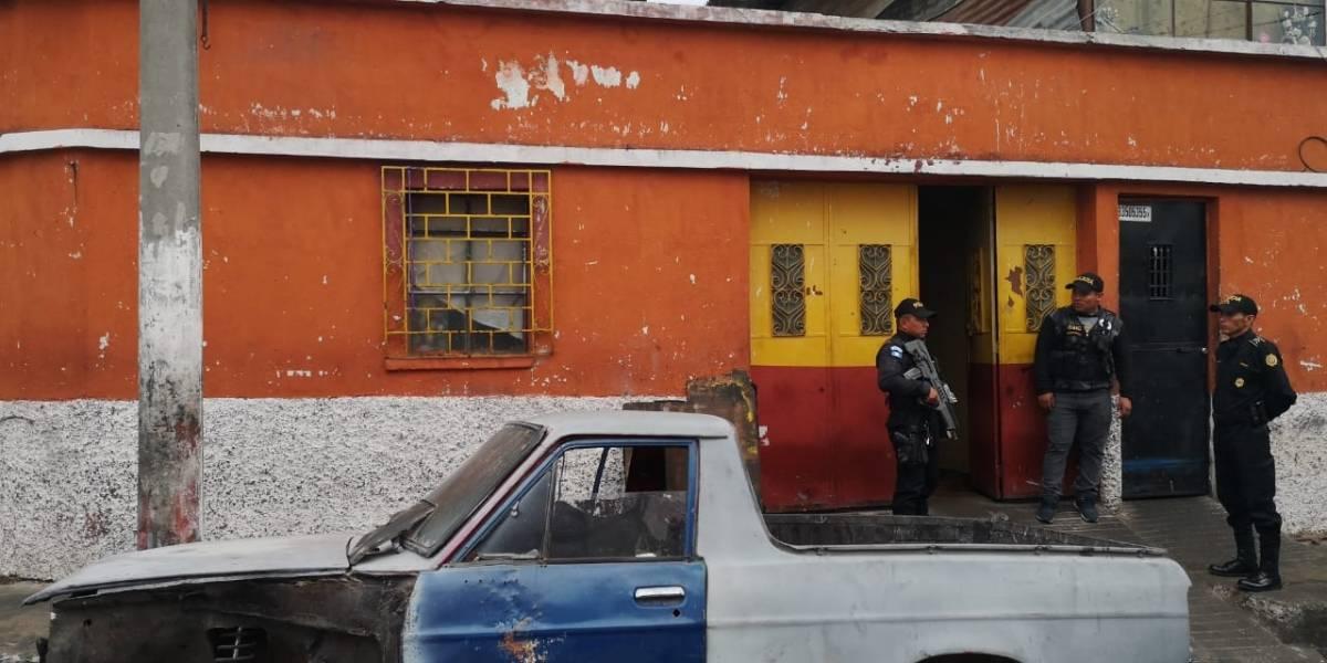 Realizan operativo contra extorsiones en Guatemala y Quetzaltenango