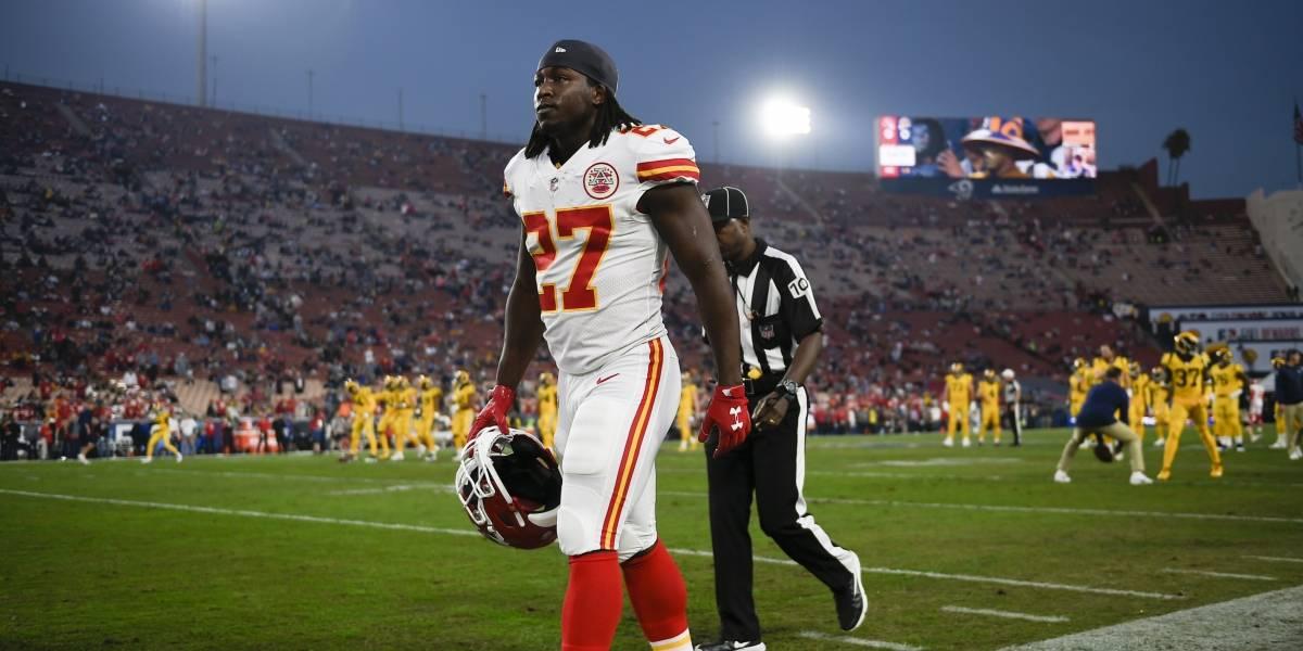 ¡Ya hay sanción! NFL suspende ocho partidos a Kareem Hunt