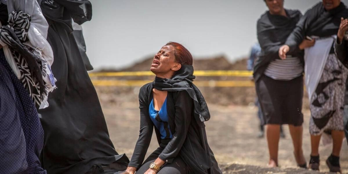 Capitán de avión desplomado en Etiopía dio alerta tras despegar