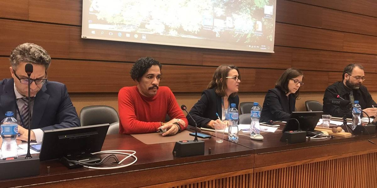 VÍDEO: embaixadora do Brasil abandona debate da ONU após bate-boca com Jean Wyllys