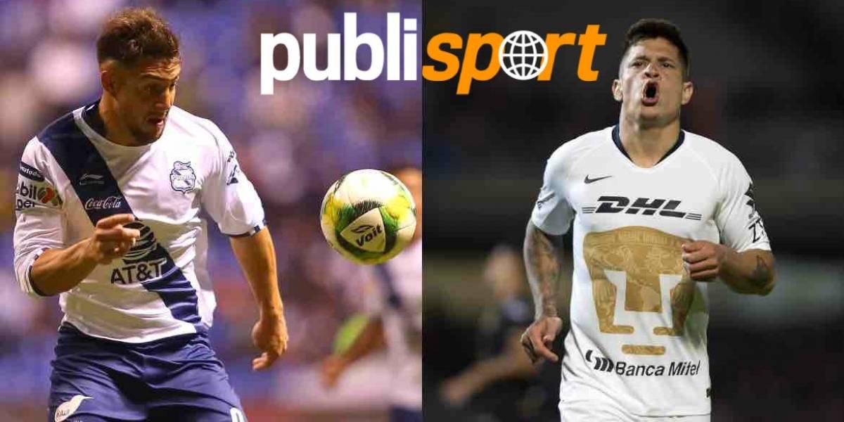 #VIDEO Cavallini le da el triunfo a Puebla frente a Pumas