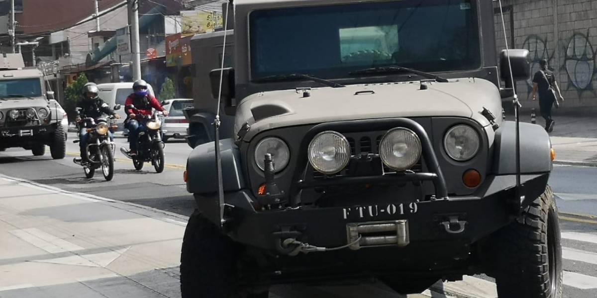 Movilización de los jeep J8 fue por orden del Estado Mayor de la Defensa
