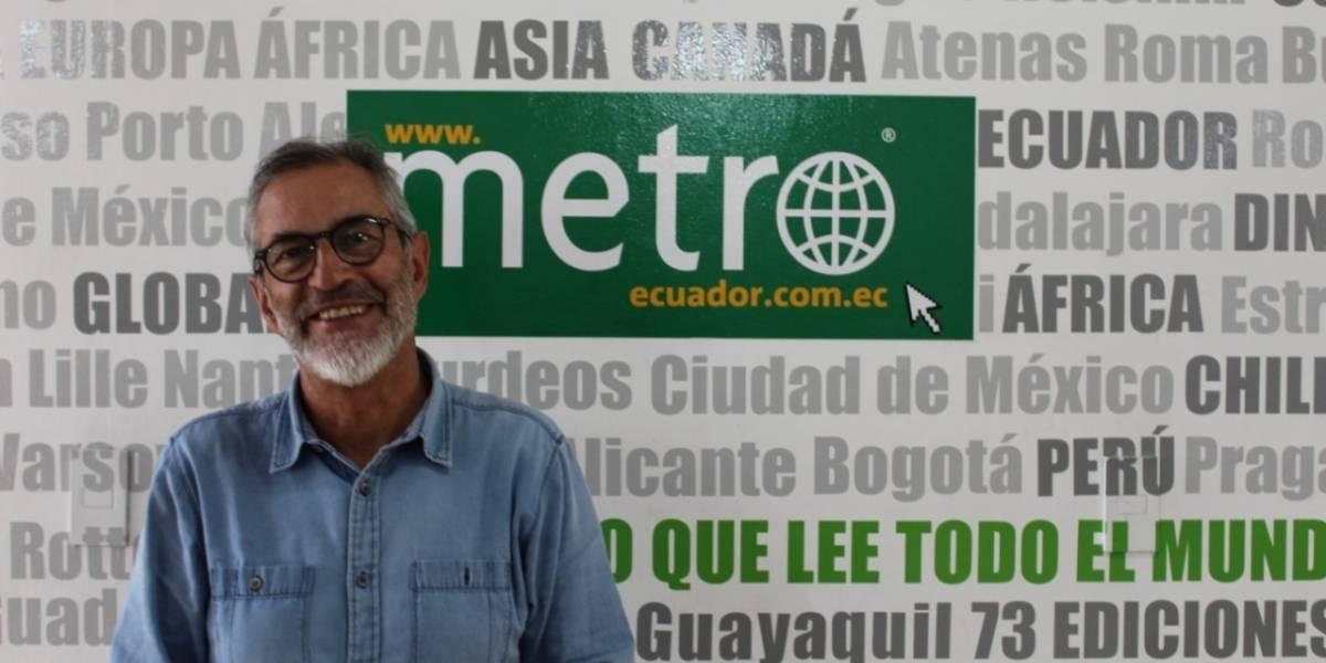 """Esteban Moscoso: """"Obras sin corrupción"""""""