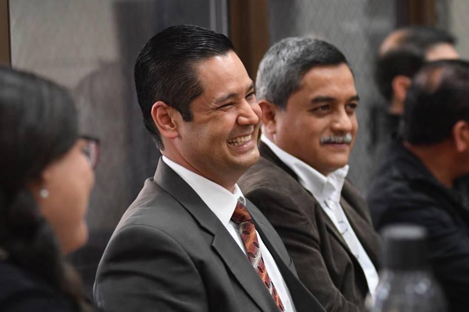 MP y CICIG investigaron el supuesto financiamiento ilegal en favor de la UNE. Foto: Omar Solís